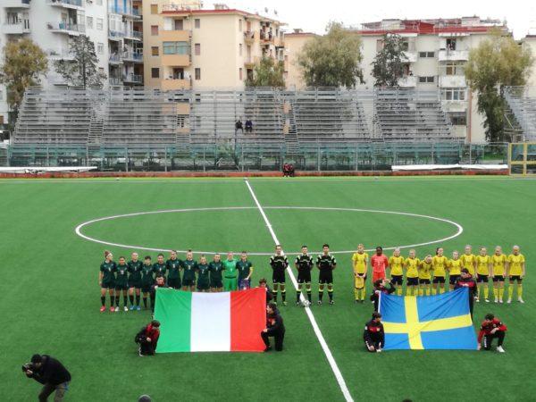 Under 19 femminile a Torre del Greco: Italia batte Svezia 4 a 1