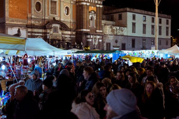 notte della befana 2020 piazza mercato