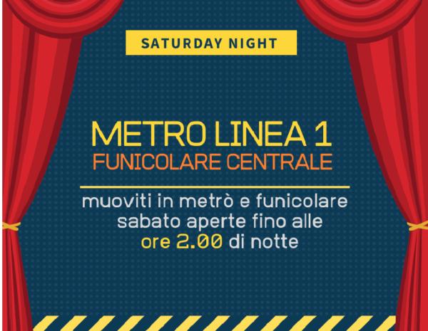 Napoli. Metro 1 e Funicolare aperte fino alle 2.00 del mattino