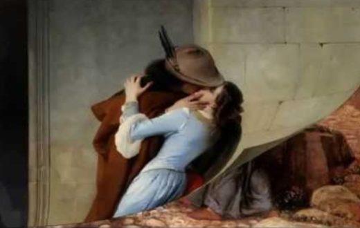 bacio vietato a Napoli 1562