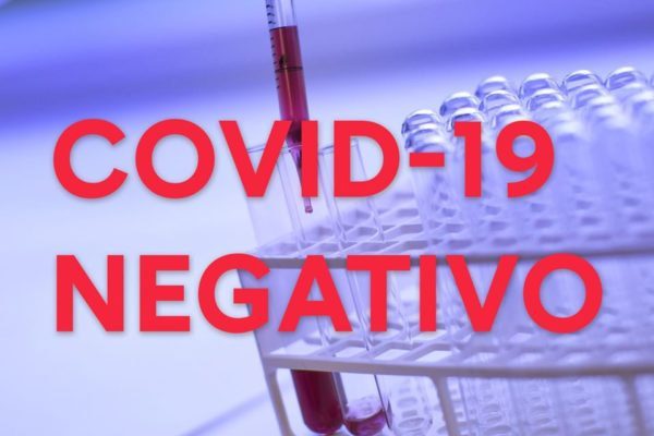 coronavirus test negativi