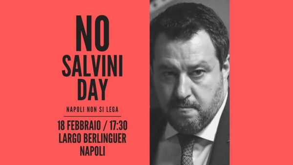 no salvini day napoli 2020
