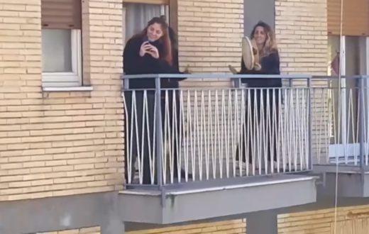 Coronavirus balconi