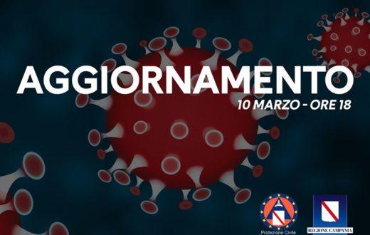 coronavirus campania 10 marzo 2020