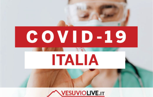 coronavirus italia vesuvio live