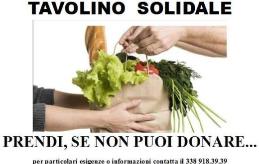 tavolino solidale