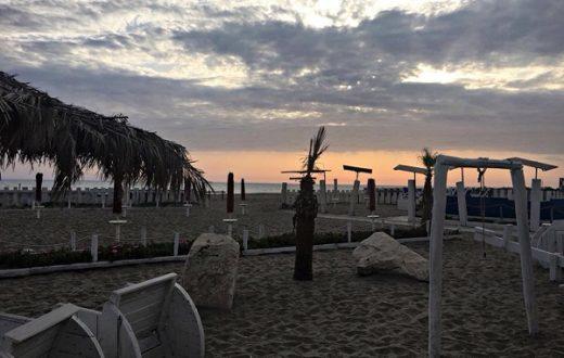 Castel Volturno Lido Flava beach