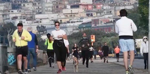 jogging passeggiate