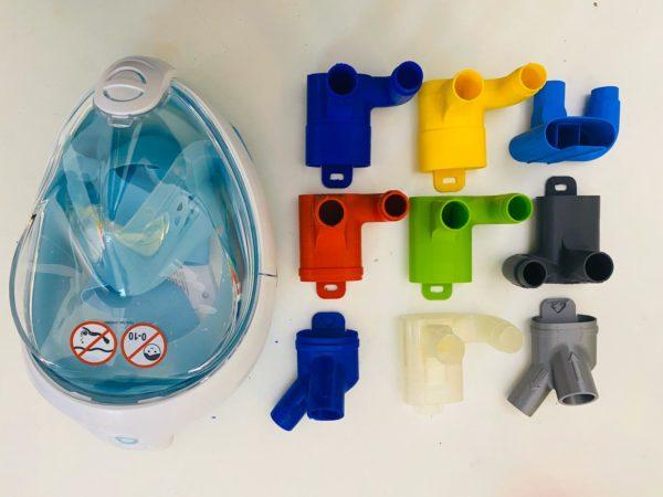 maschere stampanti 3D