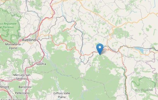terremoto nusco 15 aprile 2020
