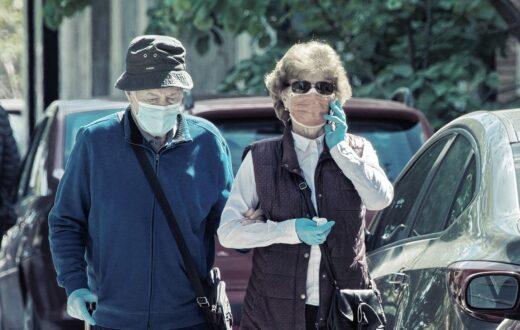 mascherina anziani coronavirus
