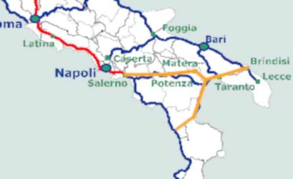 Ferrovia Diagonale del Mediterraneo per il Sud