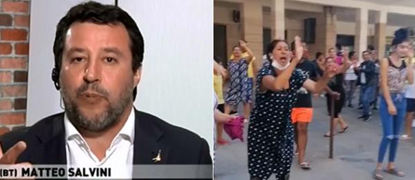 Mondragone Matteo Salvini