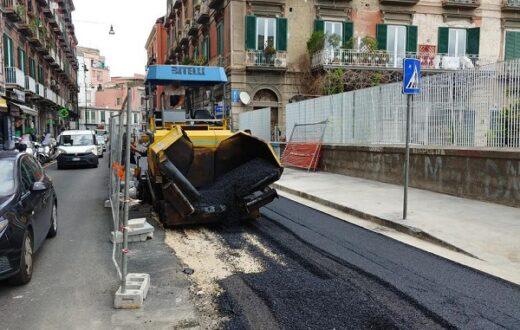 Corso Vittorio Emanuele paletti