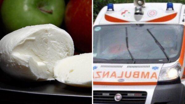 mozzarella ambulanza