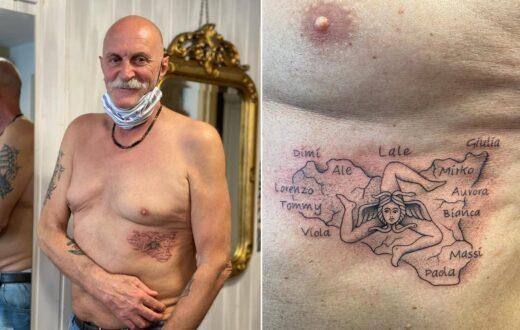 ettore consonni tatuaggio sicilia