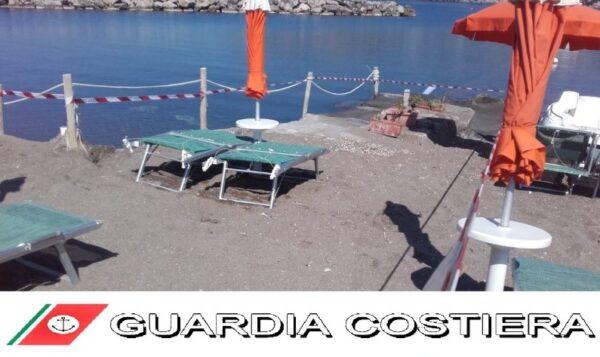 ischia spiaggia abusiva guardia costiera