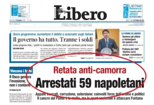 libero arrestati napoletani