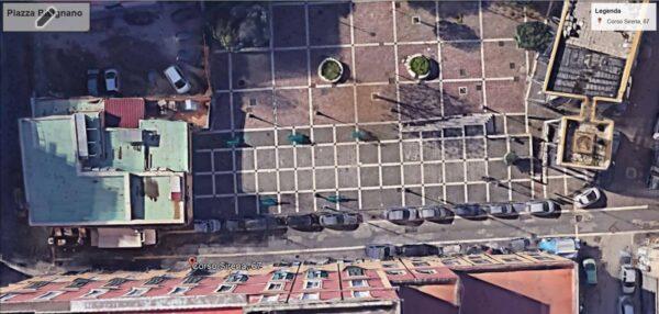 parcheggio villa roomer