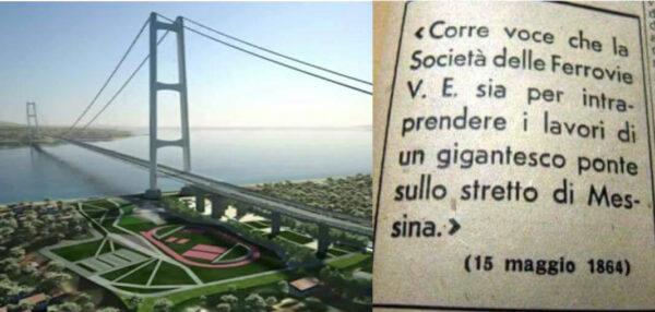 Anche Conte promette il Ponte sullo Stretto: da 160 anni la più grande bugia d'Italia