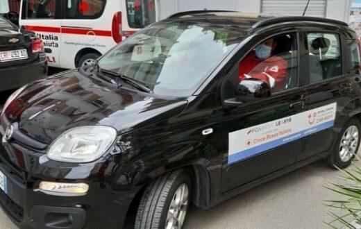 Croce Rossa Italiana auto rubata