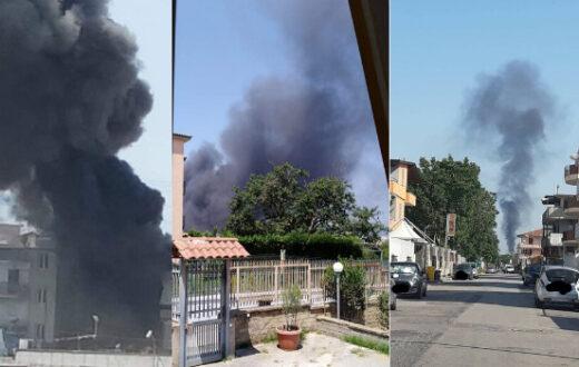 incendio Villaricca