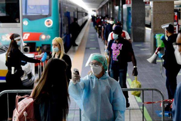 Coronavirus: le regole del Dpcm 14 luglio 2020 per viaggiare in treno