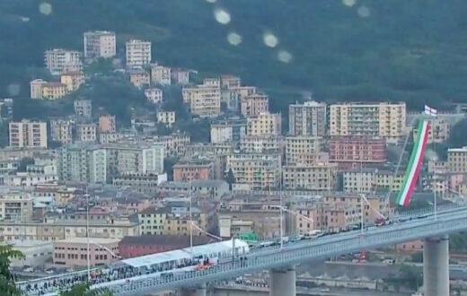 inaugurazione ponte di genova