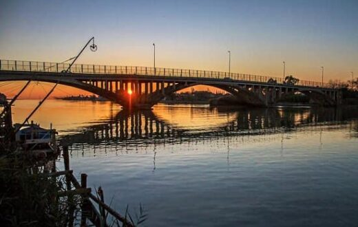 ponte fiume volturno