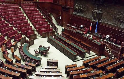 aula montecitorio parlamento