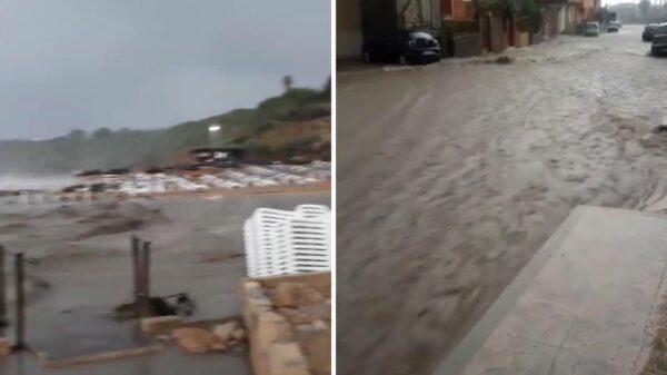 ciclone capo rizzuto