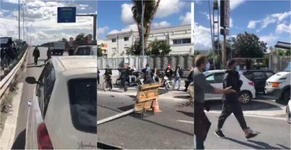protesta arzano