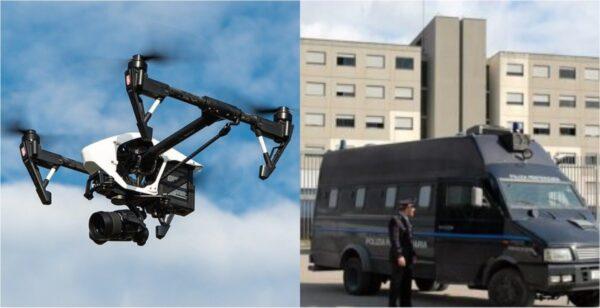 drone carcere secondigliano