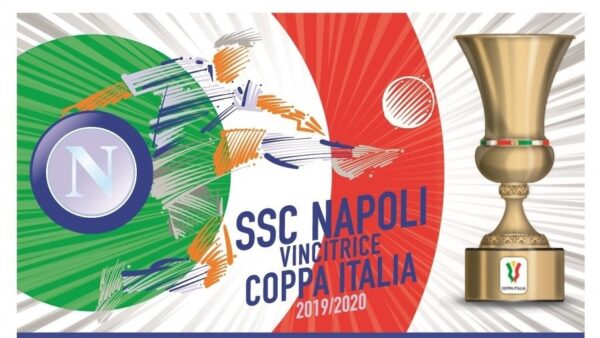 francobollo Napoli coppa Italia