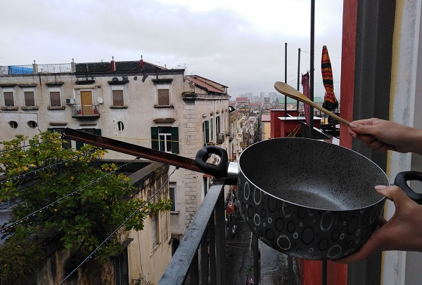 lockdown Napoli