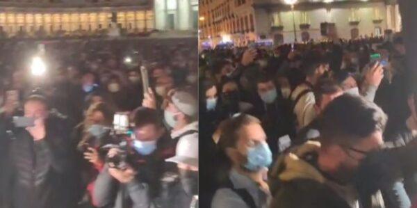 proteste piazza plebiscito