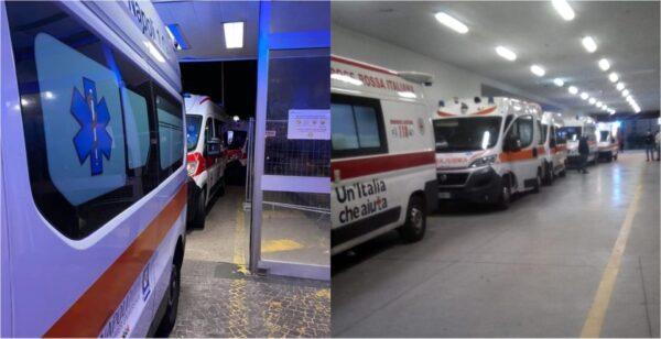 fila ambulanze napoli