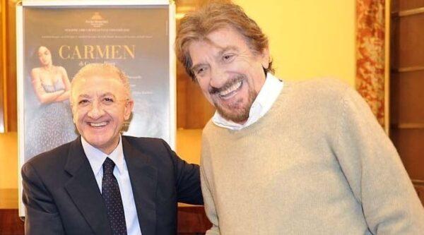 De Luca e Gigi Proietti
