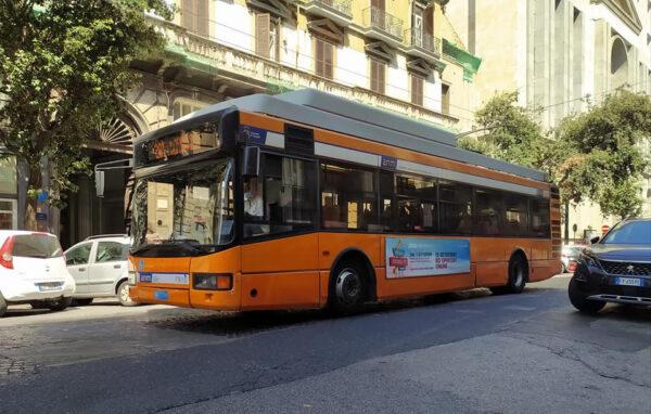 filobus 204 napoli percorso