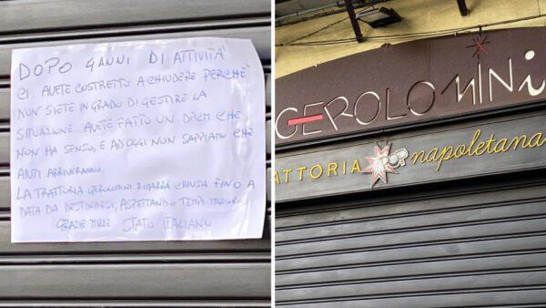 gerolomini chiude