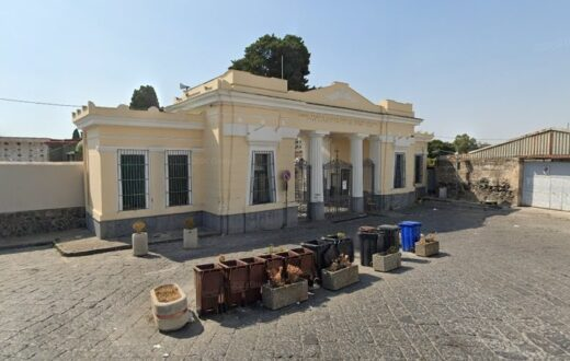 cimitero torre del greco