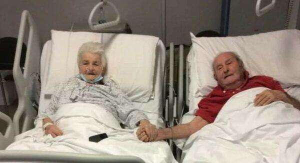 coppia anziani prato covid