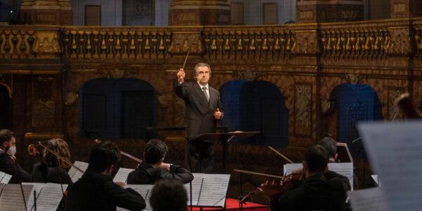 Riccardo Muti reggia