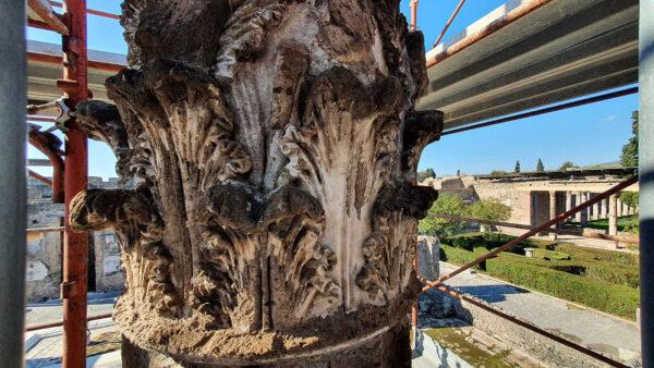 colonna casa del fauno