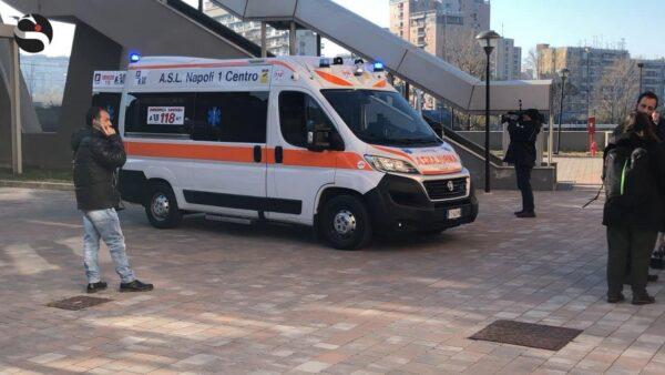 ambulanza aggressione