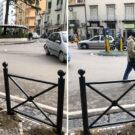 barriere pedonali vandalizzate castellammare