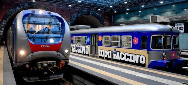 treno cumana vaccino