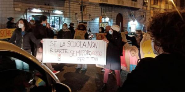 protesta pacifica