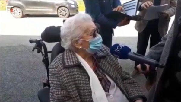 vaccinata 101 anni