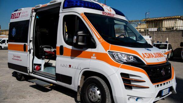 pianura ambulanza